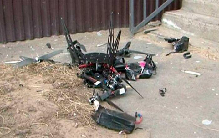 El primer dron postal ruso no vuela muy lejos