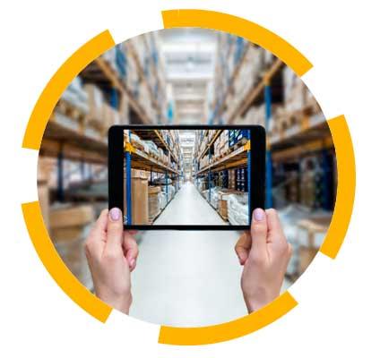 Control de stock en tiempo real de Dupla Logistics