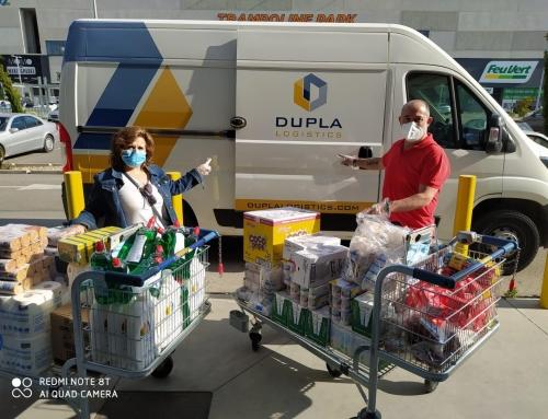 Dupla Logistics apoya a Cáritas